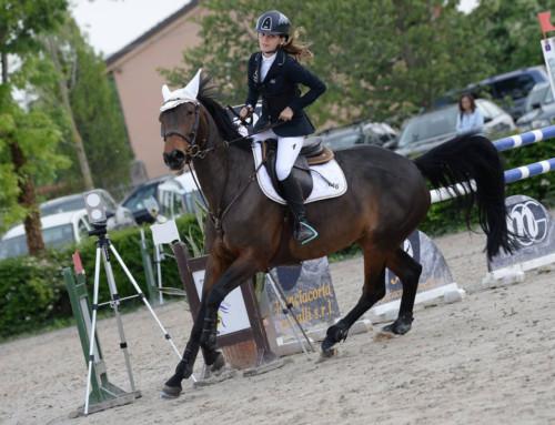 Giulia 3° posto Campionato Assoluto Children